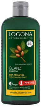LOGONA Glanz Shampoo Bio-Arganöl 250ml MHD 30.06.2021