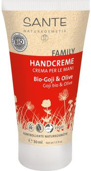 SANTE Family Handcreme Bio-Goji & Olive 30ml MHD 31.10.2020