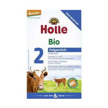 Holle Folgemilch 2, Säuglingsnahrung demeter 600g MHD 30.03.2021