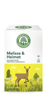 Lebensbaum Melisse & Heimat Tee 20 Btl MHD 31.01.2021