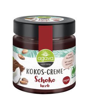 agava Kokos-Creme Schoko herb 200g MHD 30.10.2020