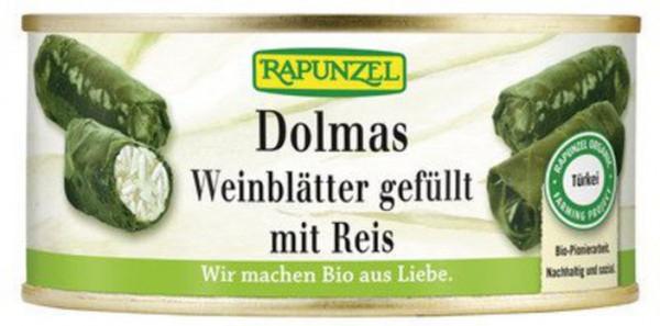 Rapunzel Dolmas Weinblätter gefüllt mit Reis 280g MHD 31.07.2021