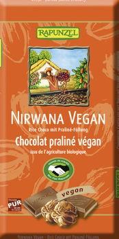 Rapunzel Nirwana Vegan Schokolade HIH 100g MHD 31.03.2020