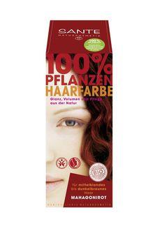 SANTE Pflanzen Haarfarben Pulver mahagonirot 100g MHD 31.01.2021