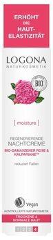 LOGONA regenerierende Nachtcreme Bio-Damaszener Rose & Kalpariane 30ml MHD 31.01.2020
