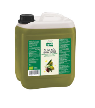 Byodo Olivenöl nativ extra, mild 5l (beschädigte Verpackung) MHD 20.04.2021