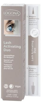 LOGONA Lash Activating Duo 5ml MHD 31.03.2020