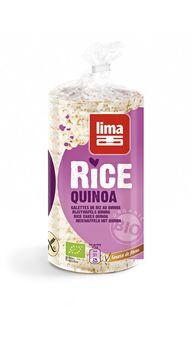 Lima Reiswaffeln mit Quinoa 100g MHD 11.07.2021