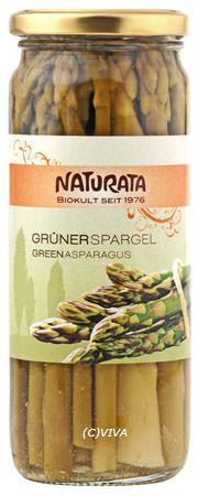 Naturata Spargel weiss, im Glas 430g MHD 30.06.2020