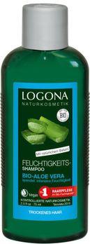LOGONA Feuchtigkeits-Shampoo Bio-Aloe Vera Kleingröße 75ml MHD 30.06.2020