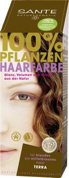 SANTE Pflanzen Haarfarben Pulver terra 100g MHD 30.06.2021