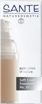 SANTE Soft Cream Foundation light beige No. 02 30ml MHD 31.01.2020