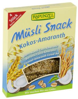 Rapunzel Müsli Snack Kokos-Amaranth Müsliriegel 116g MHD 08.09.2021