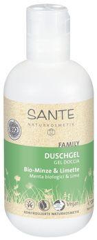 SANTE Family Duschgel Bio-Minze & Limette 200ml MHD 31.03.2021