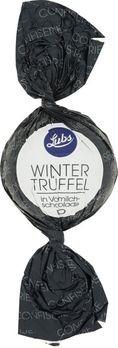 Lubs Confiseriekugeln Winter-Trüffel mit Vollmilchschokolade 75g MHD 09.03.2020