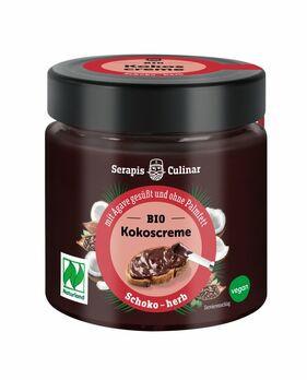 Serapis Culinar Kokos-Creme Schoko herb 200g MHD 03.05.2021