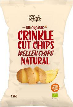 Trafo Wellen-Kartoffelchips natural 125g MHD 18.08.2021