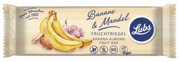 Lubs Classic Fruchtriegel Banane Mandel 40g MHD 13.11.2020