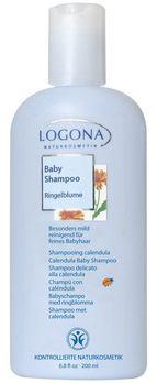 LOGONA Baby Shampoo mit Ringelblume 200ml MHD 31.05.2020