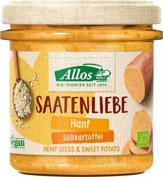 Allos Saatenliebe Hanf Süßkartoffel 135g MHD 06.04.2021