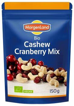 MorgenLand Cashew Cranberry Mix 150g MHD 24.03.2021
