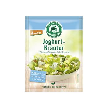 Lebensbaum Salatdressing Joghurt-Kräuter Gewürzmischung (3x5g) MHD 31.01.2021