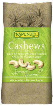 Rapunzel Cashewkerne geröstet & gesalzen 50g MHD 22.07.2020