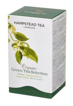 Hampstead Tea Green Selection 4 Sorten demeter 20Btl MHD 23.11.2019