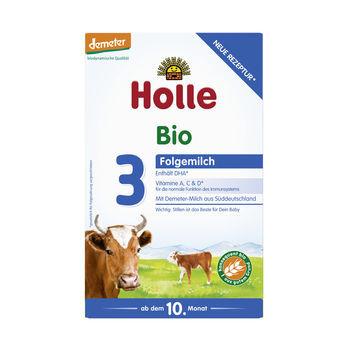 Holle Folgemilch 3, Säuglingsnahrung demeter 2x300g MHD 05.09.2020