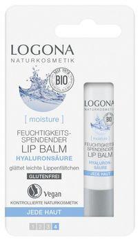 LOGONA Feuchtigkeitsspendender Lip Balm Hyaluron 4,5g MHD 31.05.2020