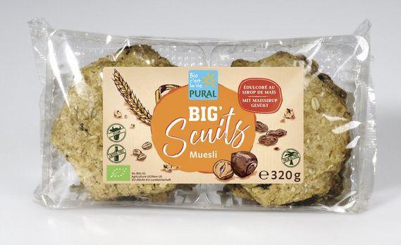 Pural Big Scuits Müsli 320g MHD 19.08.2020
