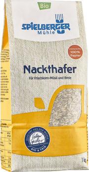 Spielberger Nackthafer 1kg MHD 01.02.2022 (beschädigte Verpackung)