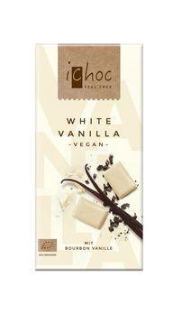 Vivani iChoc White Vanilla 80g MHD 30.04.2021