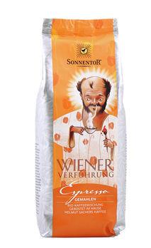 Sonnentor Wiener Verführung Espresso, gemahlen 500g MHD 16.07.2020