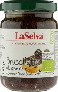 LaSelva Bruschetta alle olive nere, Schwarze Oliven 130g MHD 23.02.2021