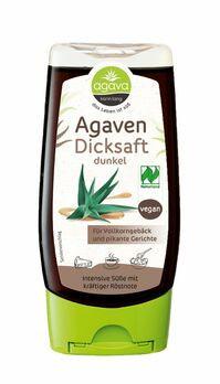 agava Agavendicksaft dunkel Spenderflasche 350g MHD 28.02.2021