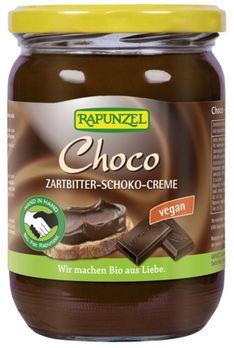 Rapunzel Choco Zartbitter Schokoaufstrich vegan 500g/A MHD 05.11.2020