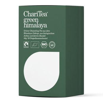 ChariTea green himalaya Doppelkammerbeutel 20 x 2g (beschädigte Verpackung) MHD05.03.2023