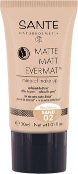 SANTE Matte Matt Evermat Mineral Make up 02 30ml MHD 31.07.2020