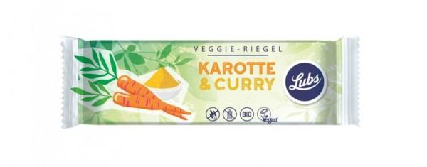 Lubs Veggie-Riegel Karotte & Curry 30g/A MHD 08.03.2020