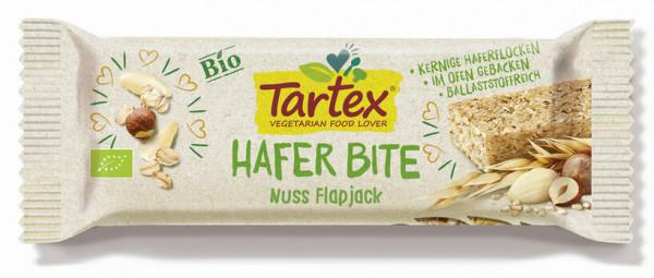 Tartex Hafer Bite Nuss Flapjack 50g MHD 29.08.2021