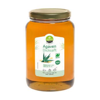 agava Agavendicksaft Glas 2kg MHD 18.09.2020