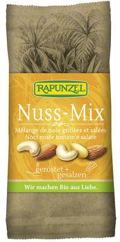 Rapunzel Nuss-Mix geröstet & gesalzen 60g MHD 25.07.2020