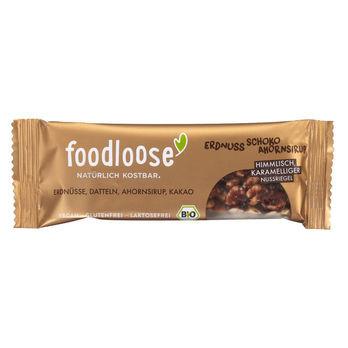 foodloose Erdnuss-Schoko Nussriegel 35g MHD 01.05.2020