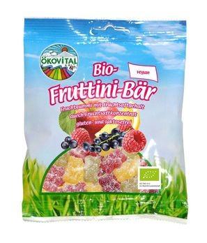 ökovital Bio-Fruttini-Bär, ohne Gelatine 100g MHD 08.03.2020