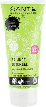 SANTE BALANCE Duschgel Bio-Aloe & Mandelöl 200ml MHD 30.06.2020