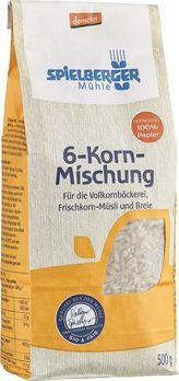 Spielberger 6-Korn-Mischung Demeter 500g MHD 30.01.2020