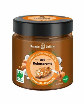 Serapis Culinar Kokos-Creme Karamell Meersalz 200g MHD 30.04.2021
