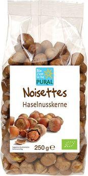 Pural Haselnusskerne Römer 250g MHD 19.04.2021
