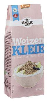 Bauckhof Weizenkleie demeter 250g MHD 11.01.2020